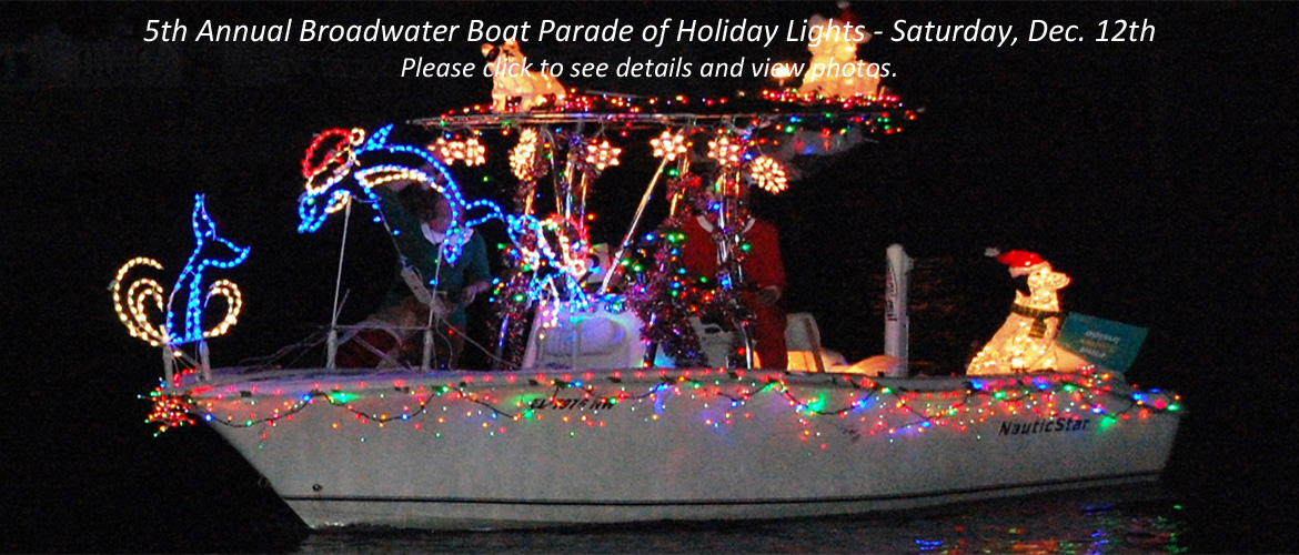 Broadwater Holiday Boat Parade 2015