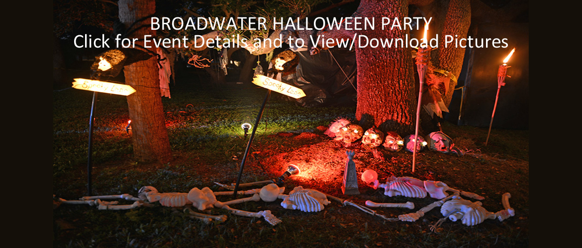 4th Annual Broadwater Halloween Party